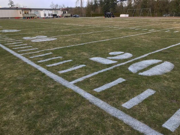 Athletic Field Painting
