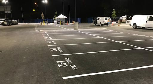 parking lot layout and design