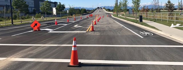 Roadway Line Painting