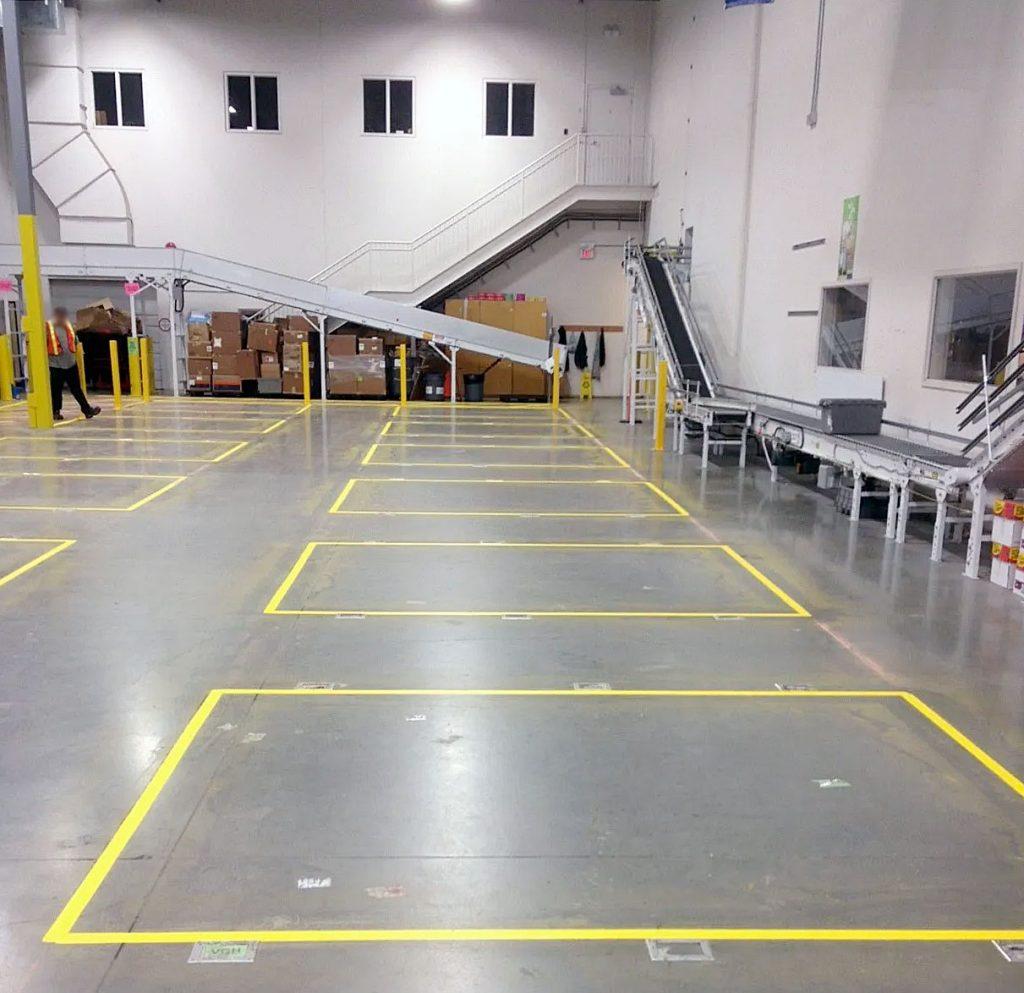 industrial line marking